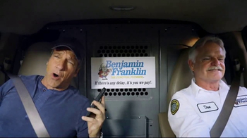Benjamin Franklin Plumbing TV Spot, 'Dispatcher' Featuring Mike Rowe