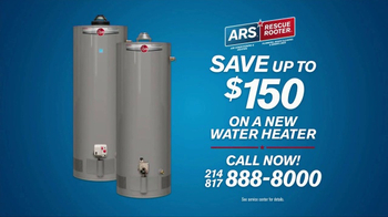 ARS Rescue Rooter Water Heater Special TV Spot, 'Installations' - Thumbnail 4