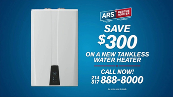 ARS Rescue Rooter Water Heater Special TV Spot, 'Installations' - Thumbnail 5