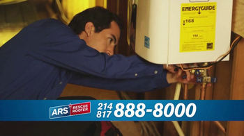 ARS Rescue Rooter Water Heater Special TV Spot, 'Installations' - Thumbnail 6