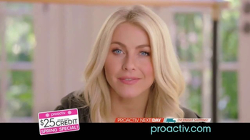 Proactiv Spring Special TV Spot, '$25 Store Credit' Feat. Julianne Hough - 652 commercial airings