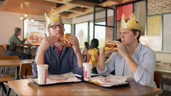 Burger King Steakhouse King TV Spot, 'Jackpot' - 7670 commercial airings