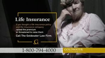 Goldwater Law Firm TV Spot, 'Life Insurance'
