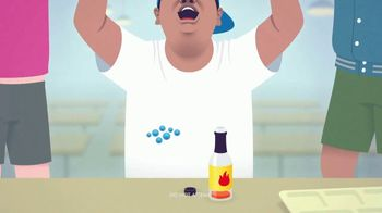 Clearasil Rapid Action TV Spot, 'Teen Problems: Hot Sauce' - 2972 commercial airings
