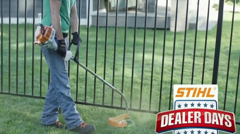 STIHL Dealer Days TV Spot, 'Trimmers, Blowers and Chainsaws'