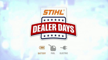 STIHL Dealer Days TV Spot, 'Trimmers, Blowers and Chainsaws' - Thumbnail 5