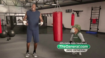 The General TV Spot, 'Boxing' Featuring Shaquille O'Neal - Thumbnail 8