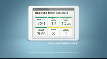 Discover Card Scorecard TV Spot, 'Good Boy' - Thumbnail 10