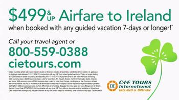 CIE Tours TV Spot, 'St. Patrick's Day Parade' - Thumbnail 7