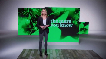 The More You Know TV Spot, 'Reusable Cups' Featuring Kathryn Tappen - Thumbnail 1