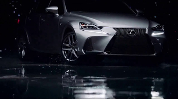 2017 Lexus IS Turbo TV Spot, 'Body Language: Ourspoken' Song by InShape [T2] - Thumbnail 6
