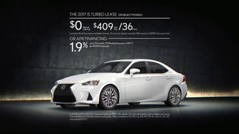 2017 Lexus IS Turbo TV Spot, 'Body Language: Ourspoken' Song by InShape [T2] - Thumbnail 9
