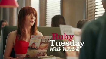 Ruby Tuesday Garden Bar and Grill TV Spot, \'Fresh Flavors\'