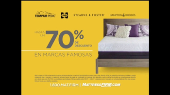 Mattress Firm Oportunidad Para Grandes Ahorros TV Spot, 'Marcas' [Spanish] - Thumbnail 2