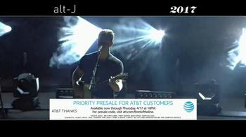 Live Nation TV Spot, '2017 Alt-J Relaxer Tour' - Thumbnail 6