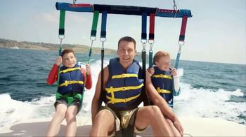 Navy Federal Credit Union GO REWARDS Credit Card TV Spot, 'Parasailing' - 68 commercial airings