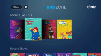 XFINITY X1 TV Spot, 'Sprout Kids Zone' - Thumbnail 3