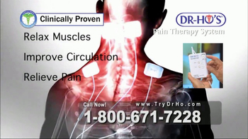DR-HO's Pain Therapy System TV Spot, 'Aches & Pains' - Thumbnail 3