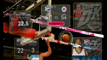 NBA App TV Spot, 'Just One Play: How We Write Our Name' - Thumbnail 7
