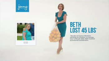 Jenny Craig TV Spot, 'Beth: 30 Days Free'