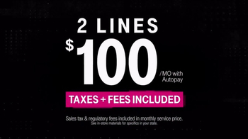 T-Mobile One TV Spot, 'Taxes and Fees: Samsung Galaxy S8' - Thumbnail 10