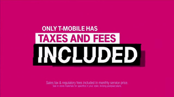 T-Mobile One TV Spot, 'Taxes and Fees: Samsung Galaxy S8' - Thumbnail 4