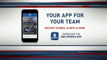 CBS Sports App TV Spot, 'Instant Scores and Alerts' - Thumbnail 2