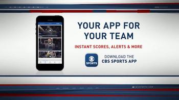 CBS Sports App TV Spot, 'Instant Scores and Alerts' - Thumbnail 3