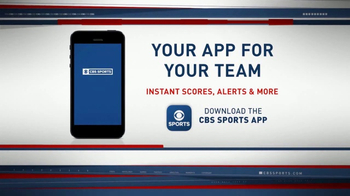 CBS Sports App TV Spot, 'Instant Scores and Alerts'