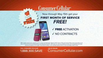 Consumer Cellular TV Spot, 'Change: First Month Free: Plans $10+ a Month' - Thumbnail 7