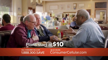 Consumer Cellular TV Spot, 'Change: First Month Free: Plans $10+ a Month' - Thumbnail 3