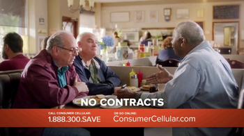 Consumer Cellular TV Spot, 'Change: First Month Free: Plans $10+ a Month' - Thumbnail 4