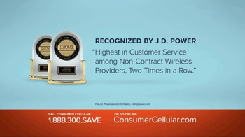 Consumer Cellular TV Spot, 'Change: First Month Free: Plans $10+ a Month' - Thumbnail 6