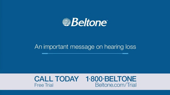 Beltone Free Trial TV Spot, 'Real, Practical Solutions' - Thumbnail 1