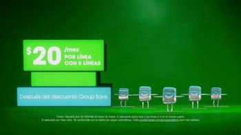 Cricket Wireless Group Save TV Spot, 'Recibe más. Ahorra más.' [Spanish] - Thumbnail 2