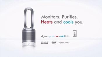 Dyson Pure Hot+Cool Link TV Spot, 'Monitors and Purifies' - Thumbnail 10