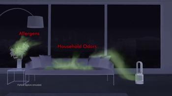 Dyson Pure Hot+Cool Link TV Spot, 'Monitors and Purifies' - Thumbnail 4