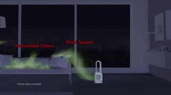 Dyson Pure Hot+Cool Link TV Spot, 'Monitors and Purifies' - Thumbnail 5