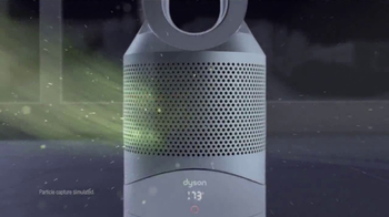 Dyson Pure Hot+Cool Link TV Spot, 'Monitors and Purifies'