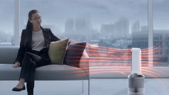 Dyson Pure Hot+Cool Link TV Spot, 'Monitors and Purifies' - Thumbnail 8