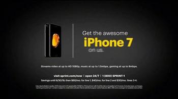 Sprint Unlimited Plan TV Spot, 'Brent & Uncle Phil: iPhone 7' - Thumbnail 9