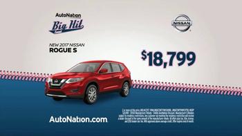 AutoNation Big Hit Event TV Spot, '2017 Nissan Rogue S' - Thumbnail 4