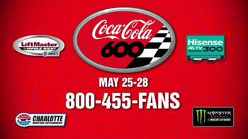 2017 Coca-Cola 600 TV Spot, '58 Years of Tradition' Song by Lynyrd Skynyrd - Thumbnail 10