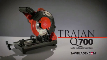 SawBlade.com Trajan Q700 TV Spot, 'Powerful' - Thumbnail 1
