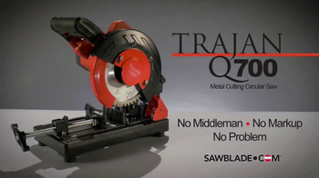 SawBlade.com Trajan Q700 TV Spot, 'Powerful' - Thumbnail 6