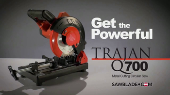 SawBlade.com Trajan Q700 TV Spot, 'Powerful' - Thumbnail 2