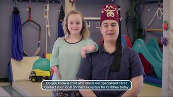 Shriners Hospitals for Children TV Spot, 'Ability' - Thumbnail 5