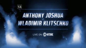 Showtime TV Spot, 'Anthony Joshua vs. Wladimir Klitschko' - Thumbnail 5