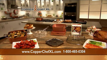 Copper Chef XL TV Spot, 'Casserole Pan'
