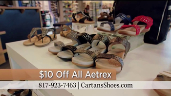 Cartan's Shoes TV Spot, '$10 Off All Aetrex' - Thumbnail 10